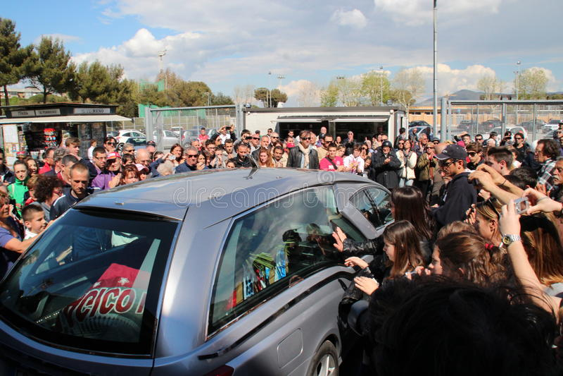 Download Stadium Picchi In Livorno Corpse Morosini Editorial Image - Image: 24375540