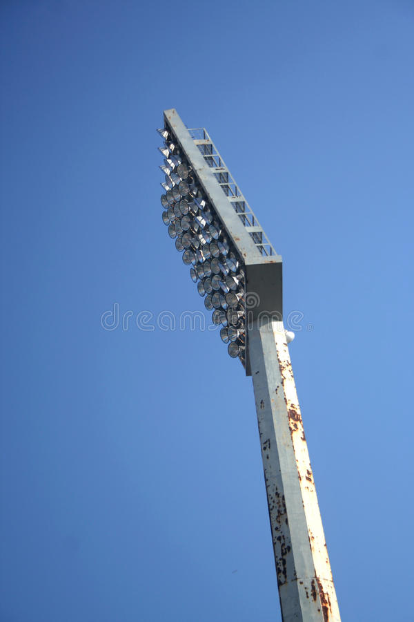 Download Stadium reflector stock image. Image of equipment, light - 17083407
