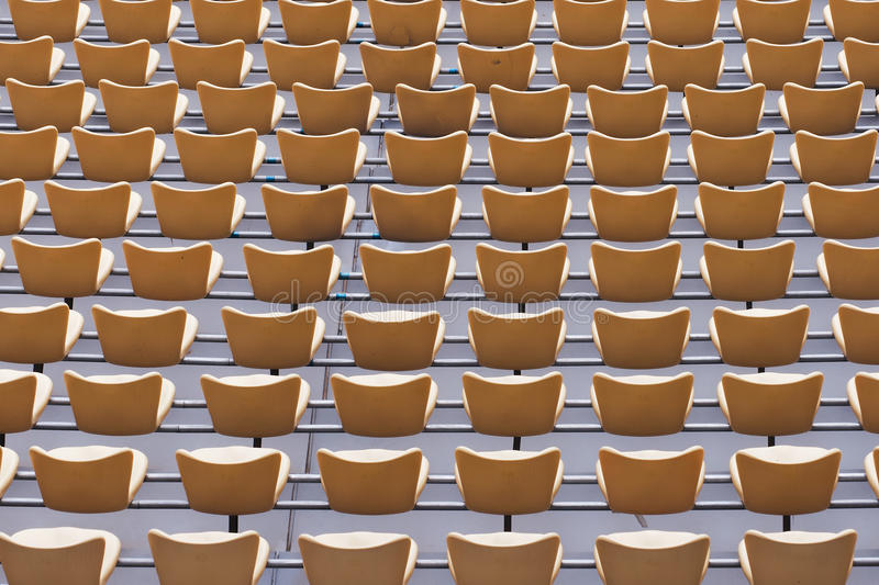 Download Stadium seat stock photo. Image of silhouette, arena - 25219050