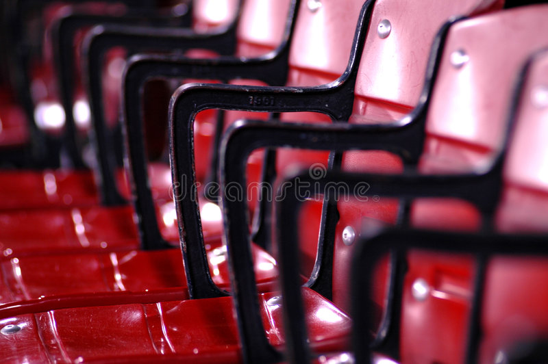 Stadium Seating royalty free stock images