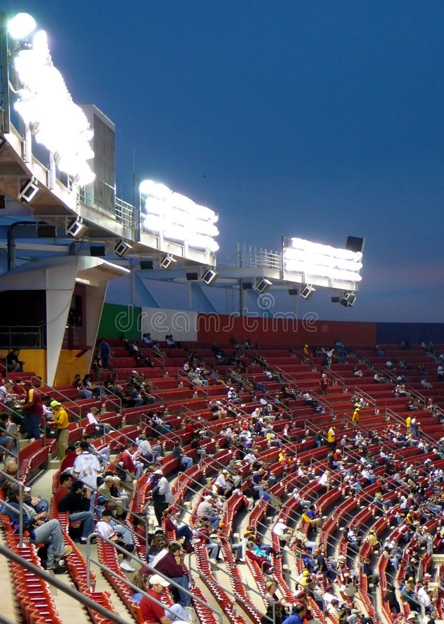 Free Stadium Seating At Night Game Royalty Free Stock Images - 1173829