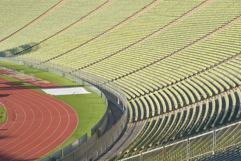 Download Stadium Seating With Athletic Track Stock Photo - Image: 16001754