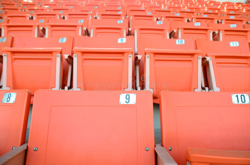 Download Stadium seats stock photo. Image of indoor, seat, object - 28768706