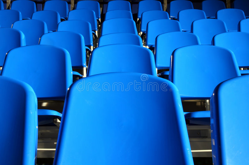 Download Stadium Seats Stock Photo - Image: 4799280