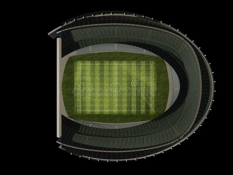 stadium struktura royalty ilustracja