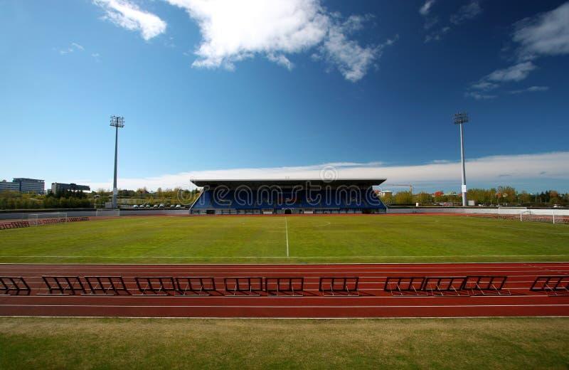 Stadium and track royalty free stock photos
