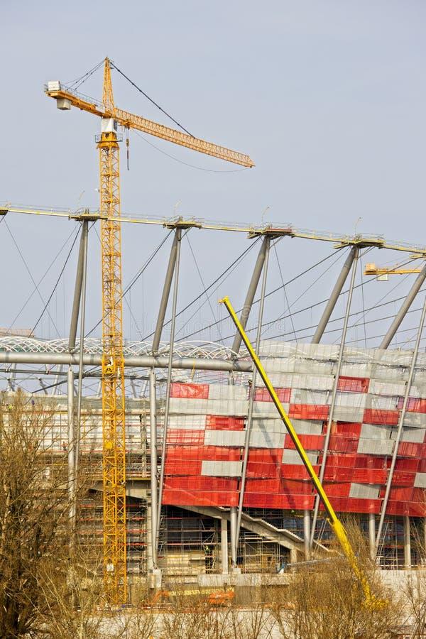 Download Stadium Under Construction stock photo. Image of poland - 19346040