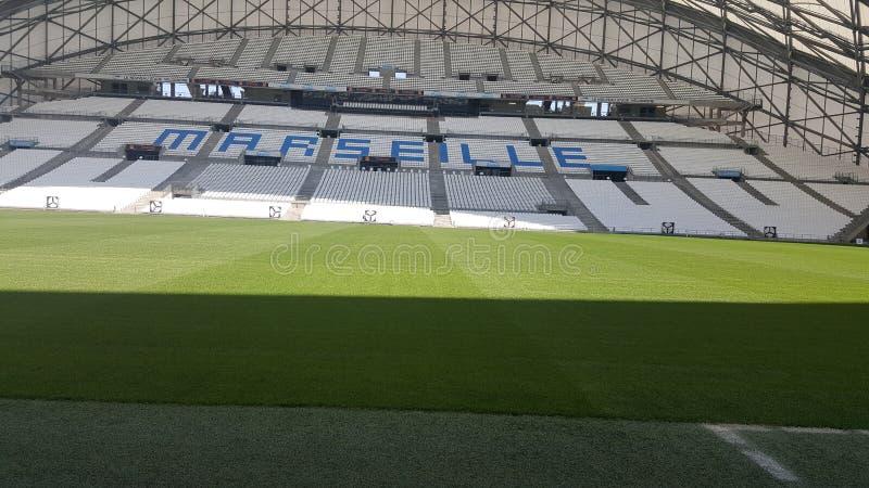 Stadium Velodrome in Marseille royalty free stock photo