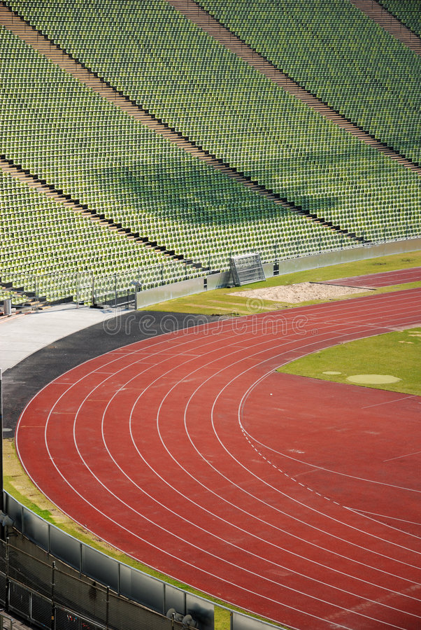 Stadium view stock photography