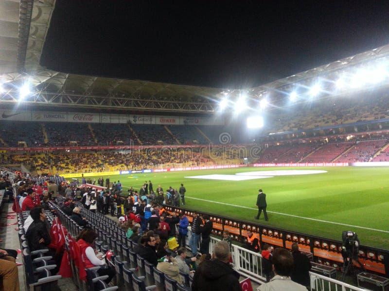 Stadium widok fotografia royalty free