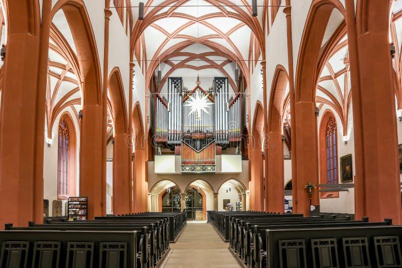 Stadkyrka Bayreuth arkivfoto