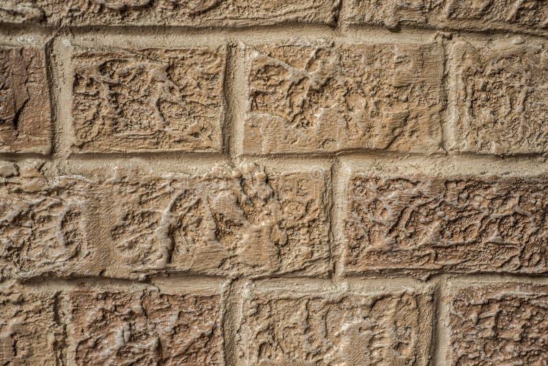 Stads- bakgrund, textur för vägg för röd tegelsten royaltyfria foton