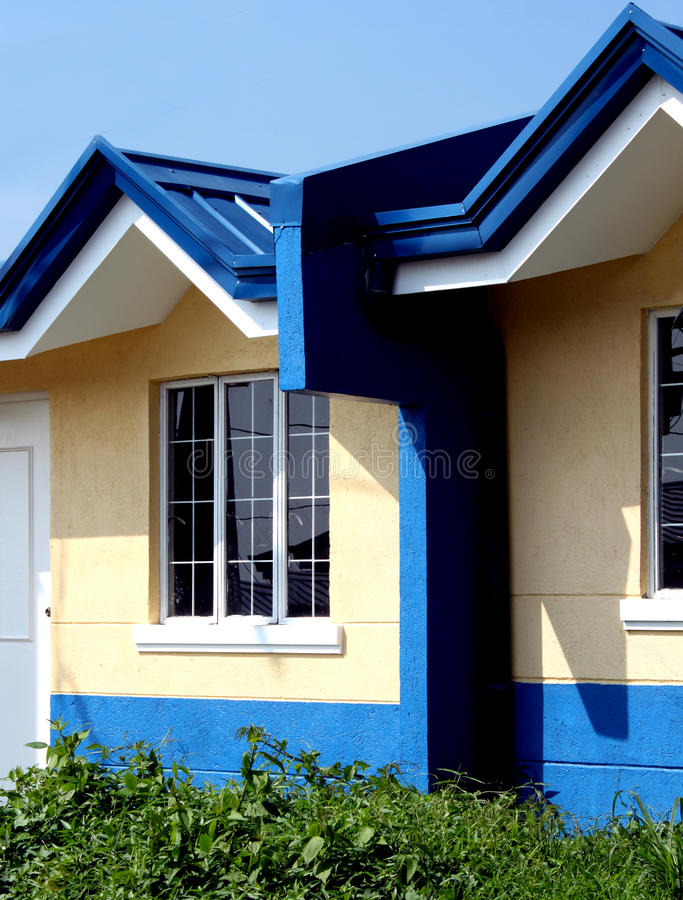stads- housing royaltyfri foto
