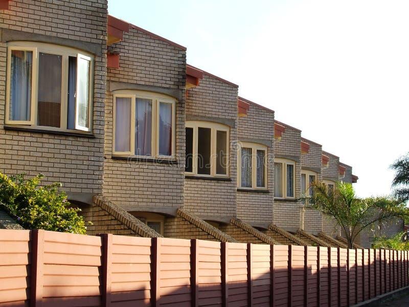 stads- housing arkivbild