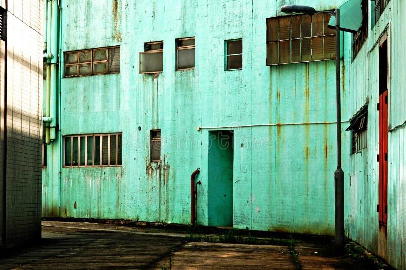 stads- industriell serie för grunge royaltyfria bilder