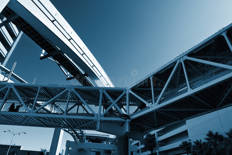 stads- infrastruktur arkivfoto