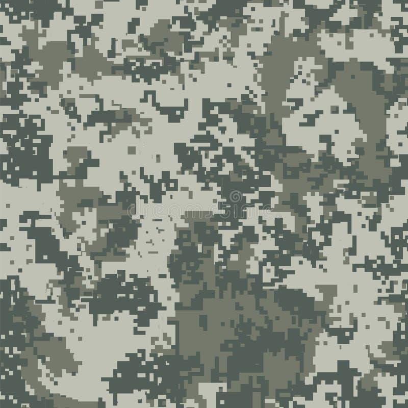 Stads- PIXELkamouflage royaltyfri illustrationer