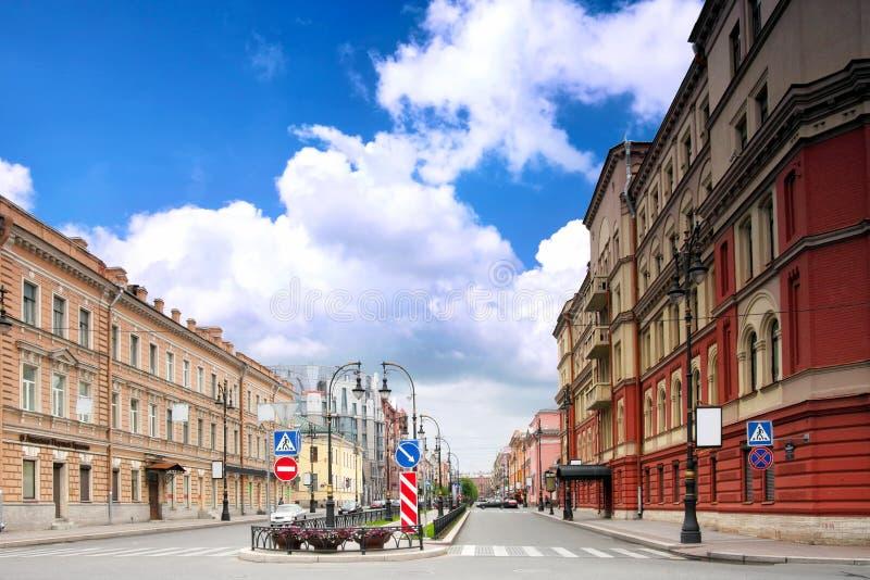 stads- sikt för petersburg saint arkivfoto