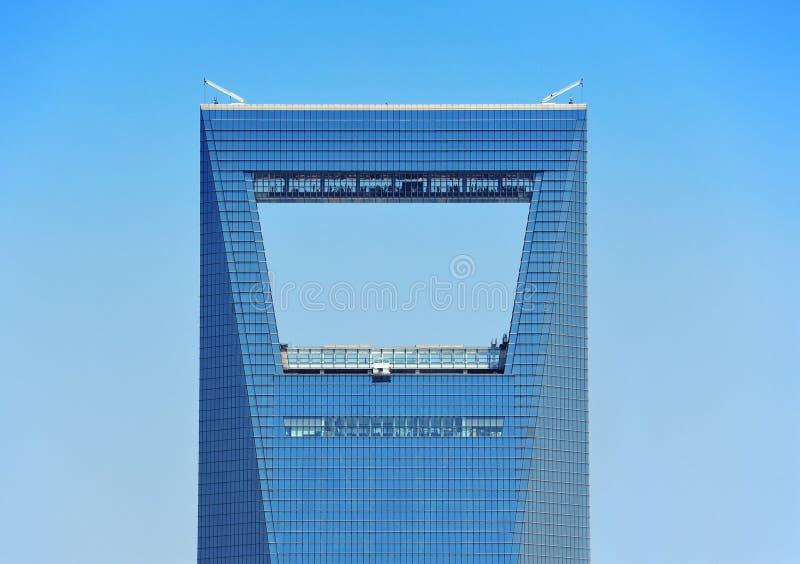 Stads- skyskrapa royaltyfri foto