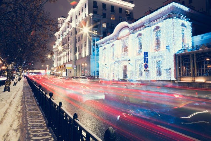 Stads- stadsväg royaltyfria bilder