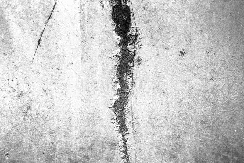 Stads- textur f?r svartvit grunge med kopieringsutrymme Abstrakt yttersidadamm och att ruffa mot den smutsiga v?ggbakgrund eller  royaltyfria foton