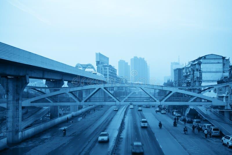stads- transport arkivbild