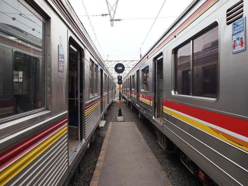 Stads- transport i Jakarta royaltyfri foto