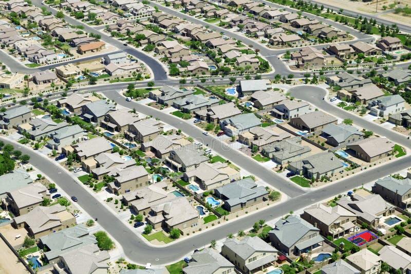 stads- utvecklingshus royaltyfri foto