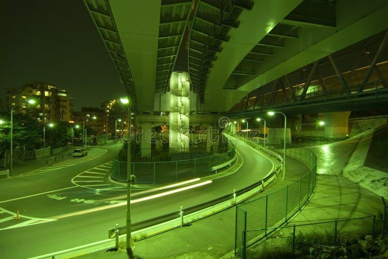 stads- vägar arkivbild