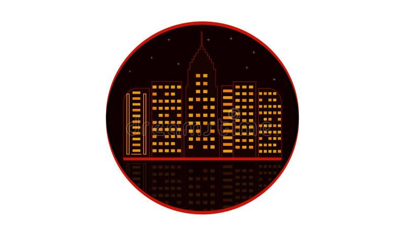Stads Vectorillustrator vector illustratie