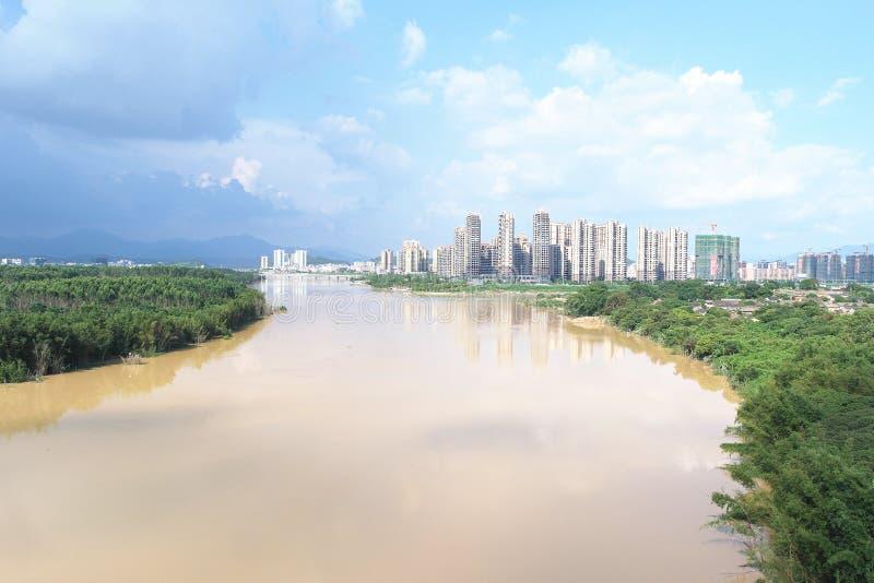 Stads- vision arkivfoto