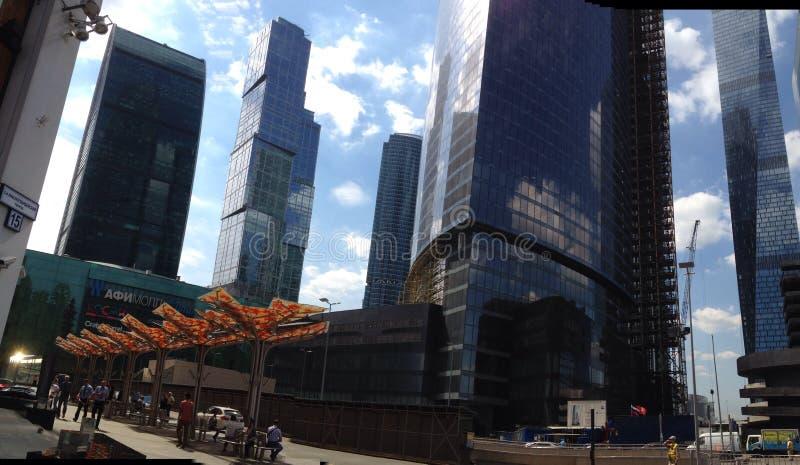 stadsdag kremlin utomhus- moscow fotografering för bildbyråer