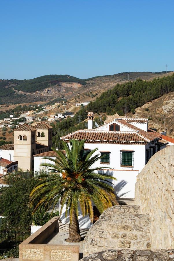 Stadsgebouwen, Antequera stock fotografie