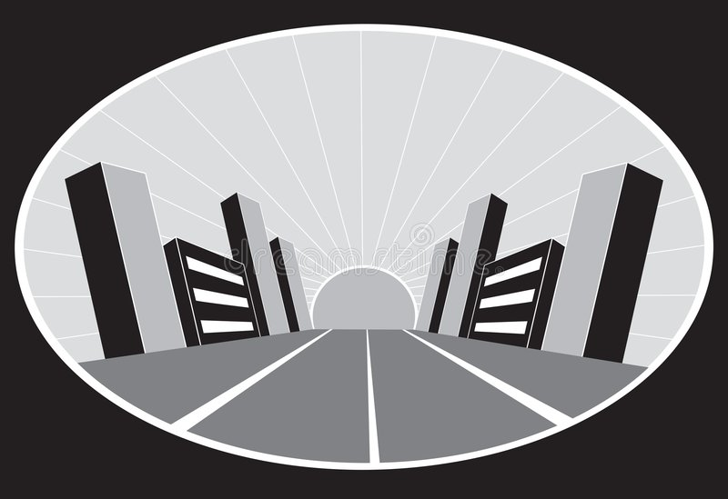 stadsgrunge vektor illustrationer