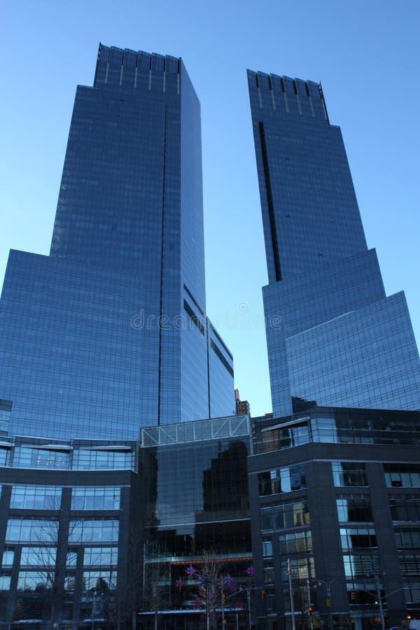 stadshighrise New York royaltyfri foto