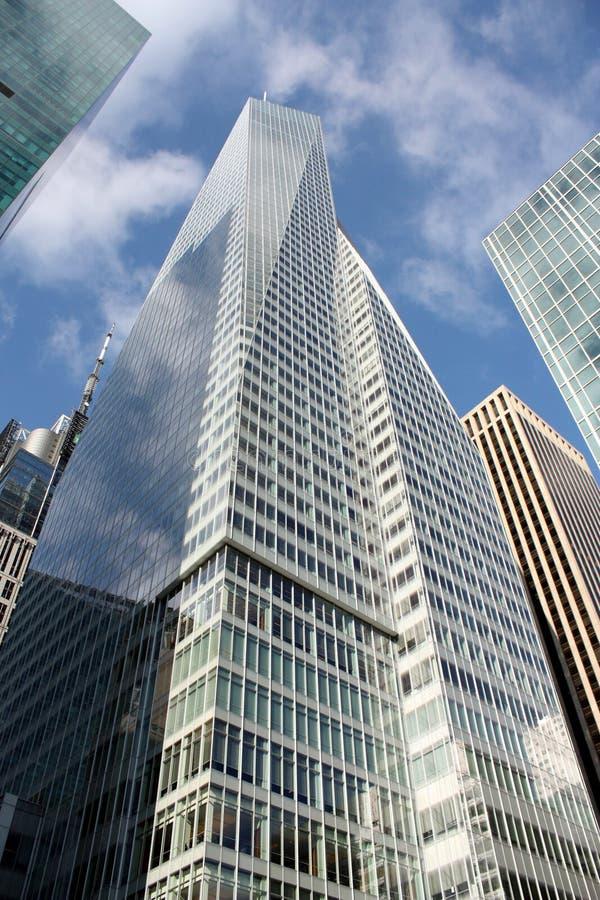 stadshighrise New York arkivfoton