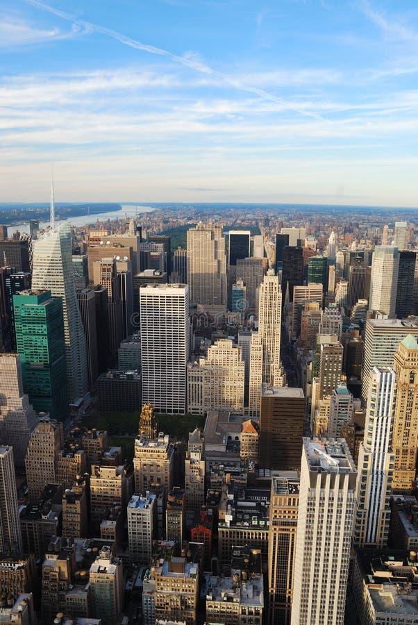 stadshudson ny flod york royaltyfria bilder