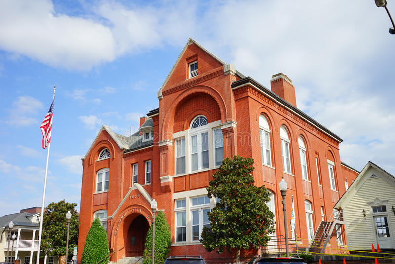 Stadshus av oxford fotografering för bildbyråer