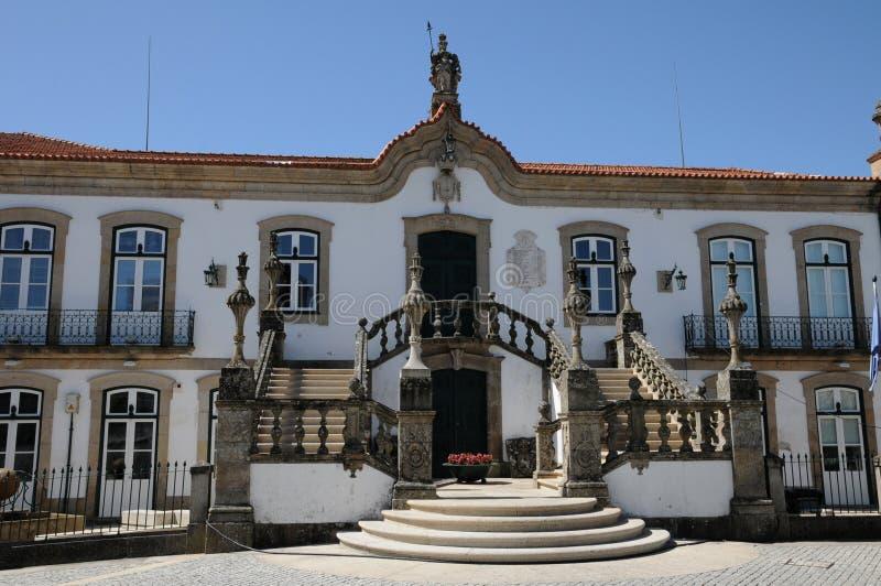 Stadshus av Vila Real royaltyfria bilder