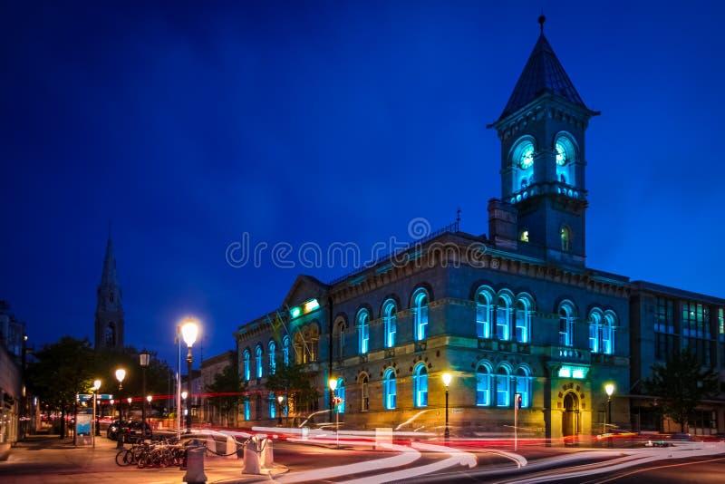 Stadshus dun laoghaire Ståndsmässiga Dublin ireland arkivbild