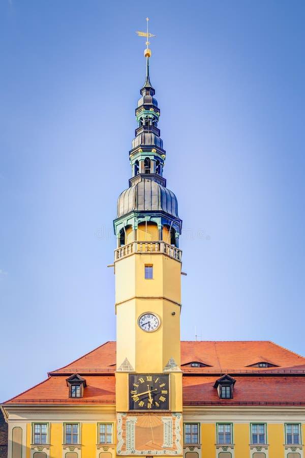 Stadshus i Bautzen fotografering för bildbyråer