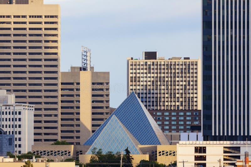 Stadshus i Edmonton royaltyfria foton