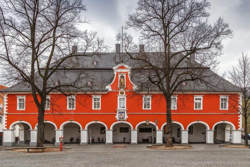 Stadshus i Soest, Tyskland arkivbilder