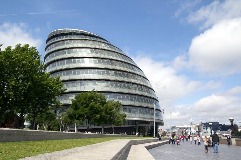 stadshus london royaltyfria bilder