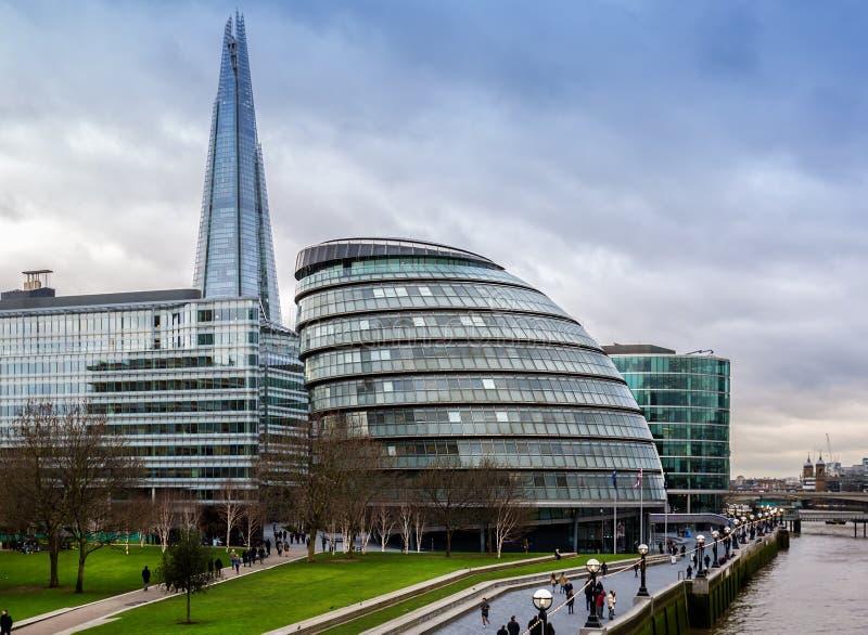 stadshus london royaltyfria foton