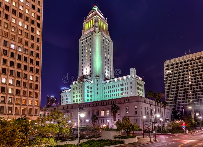 Stadshus - Los Angeles, Kalifornien royaltyfria foton