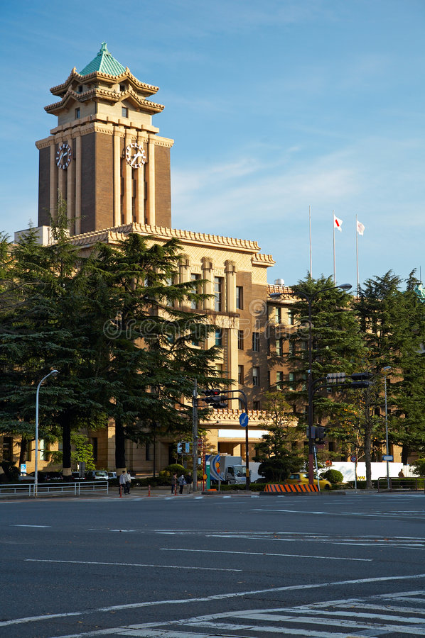 stadshus nagoya arkivfoton