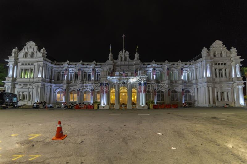 Stadshus- och lokal styrninghögkvarteren royaltyfri bild