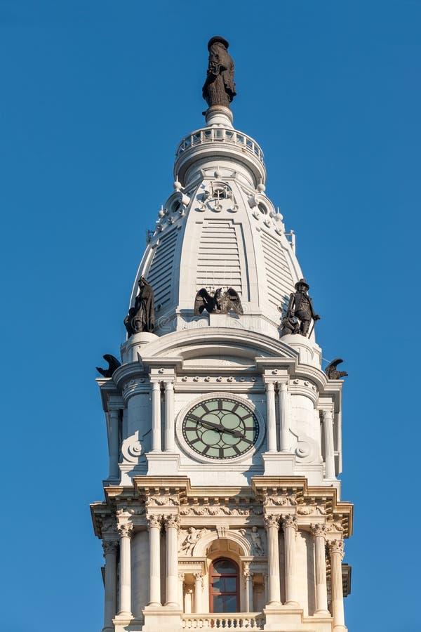 stadshus philadelphia fotografering för bildbyråer