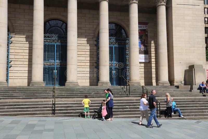 Stadshus Sheffield royaltyfri fotografi